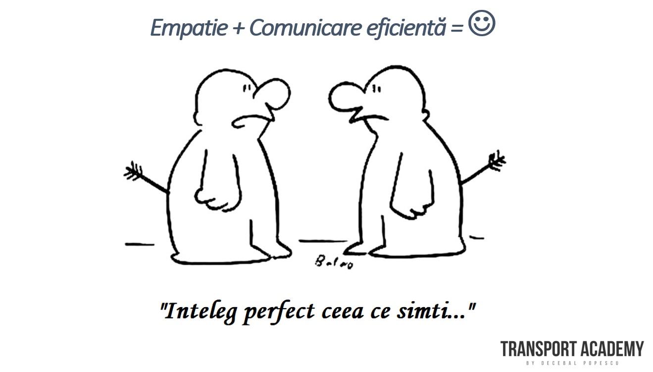 empatie si comunicare eficienta