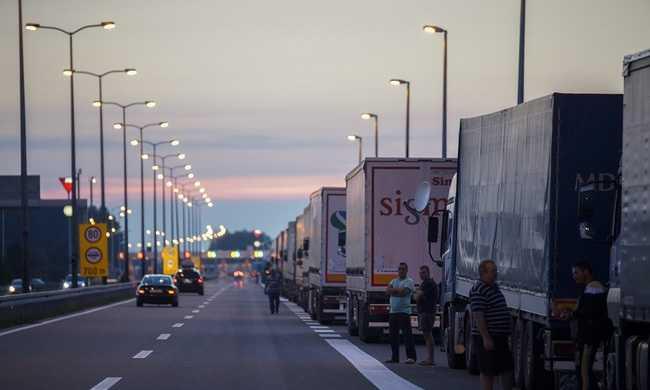 Soferii #superEroi la frontiere. Sursa foto: ISCTR